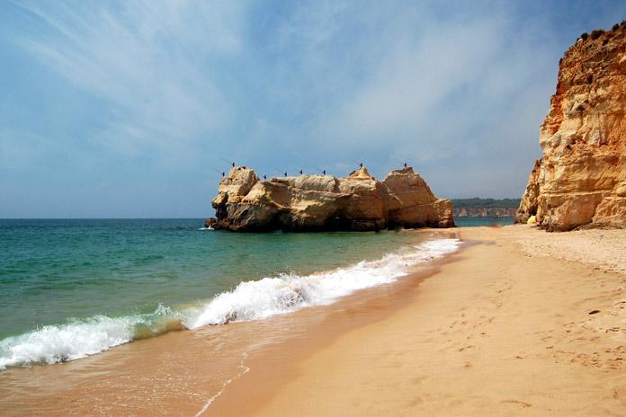 Praia da Rocha beach, Algarve
