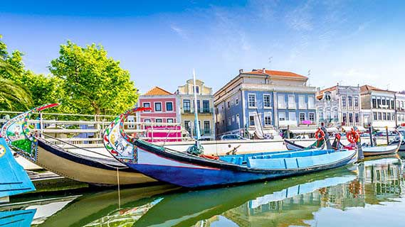 Aveiro Canal,Holidays in Aveiro