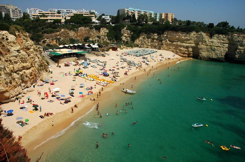 Algarve Praia Senhora da Rocha beach
